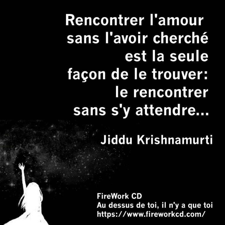 Jiddu Krishnamurti Citation
