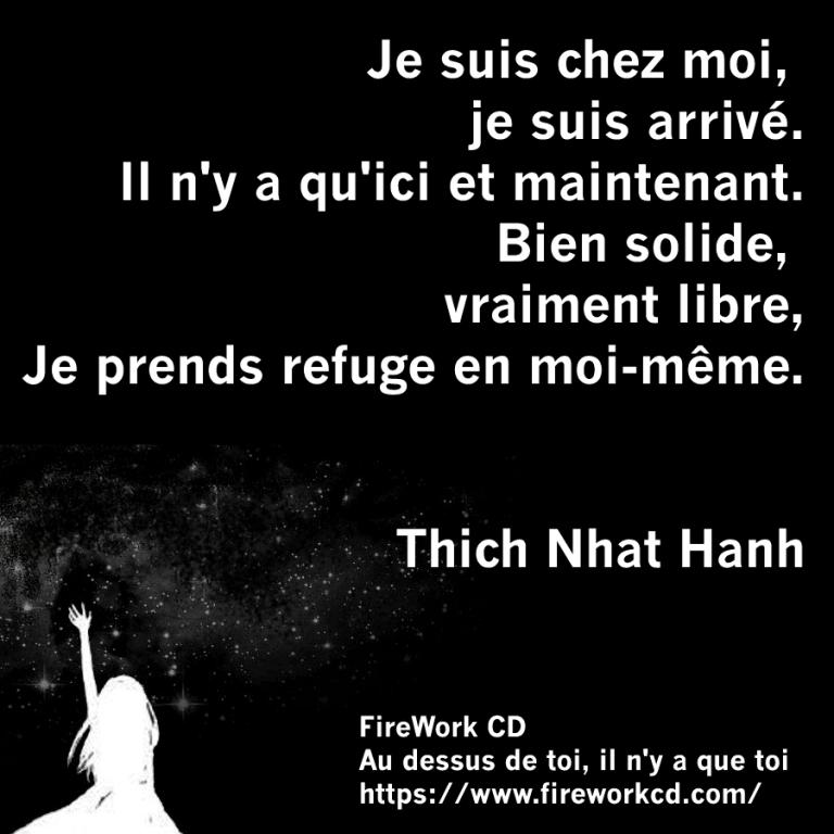 Thich Nhat Hanh - Citation sur SOI