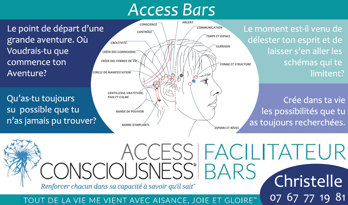 Access Bars® - Access Consciousness -Dax Landes - Christelle Firework