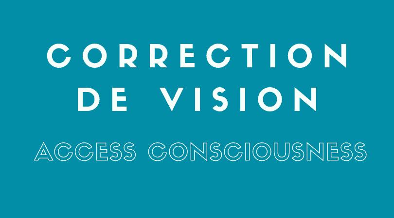 CORRECTION DE VISION SOIN ÉNERGÉTIQUE Process corps