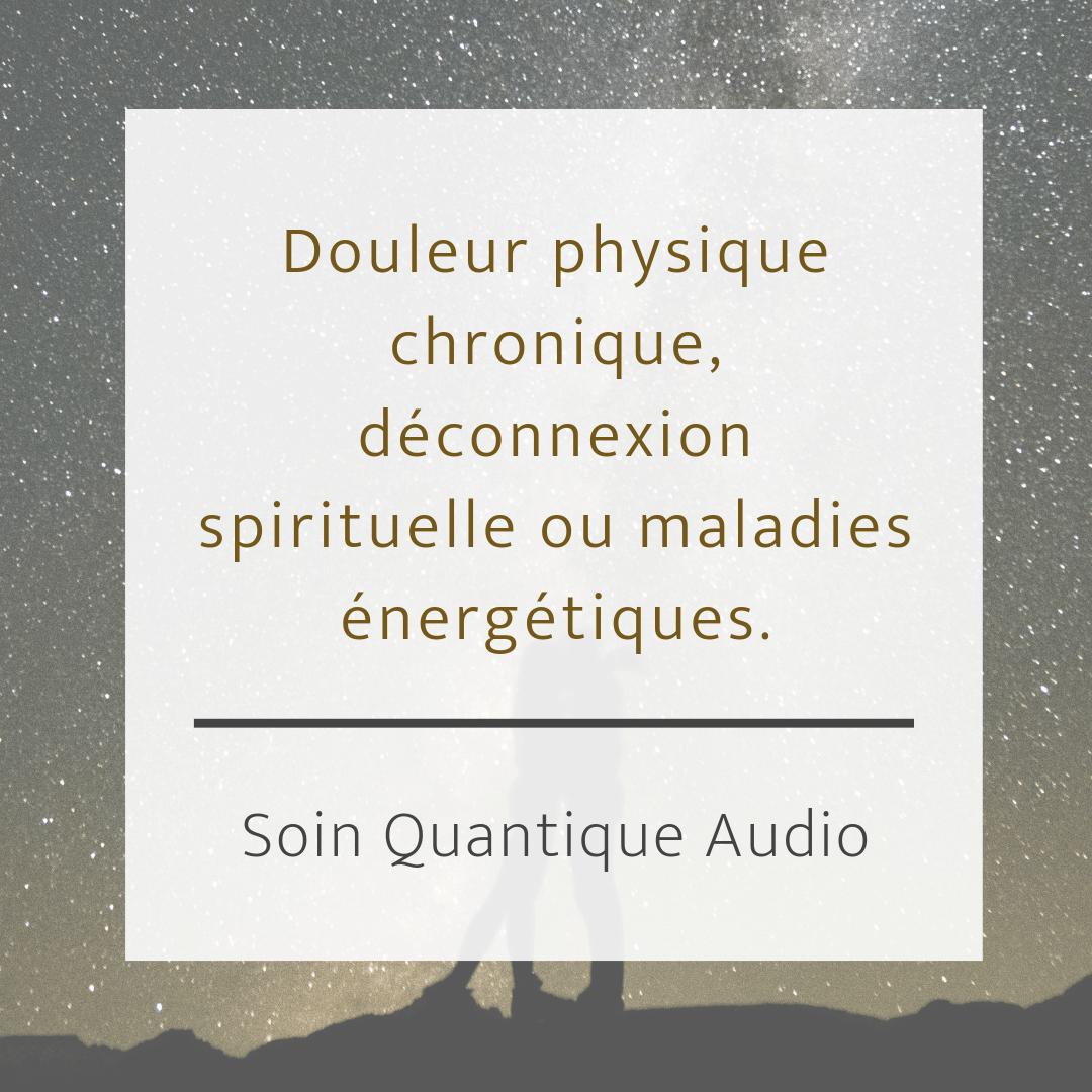 Soin Quantique : Douleur physique, déconnexion spirituelle | Christelle Firework