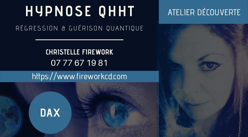 Atelier QHHT - Découverte sur 3h | Christelle Firework