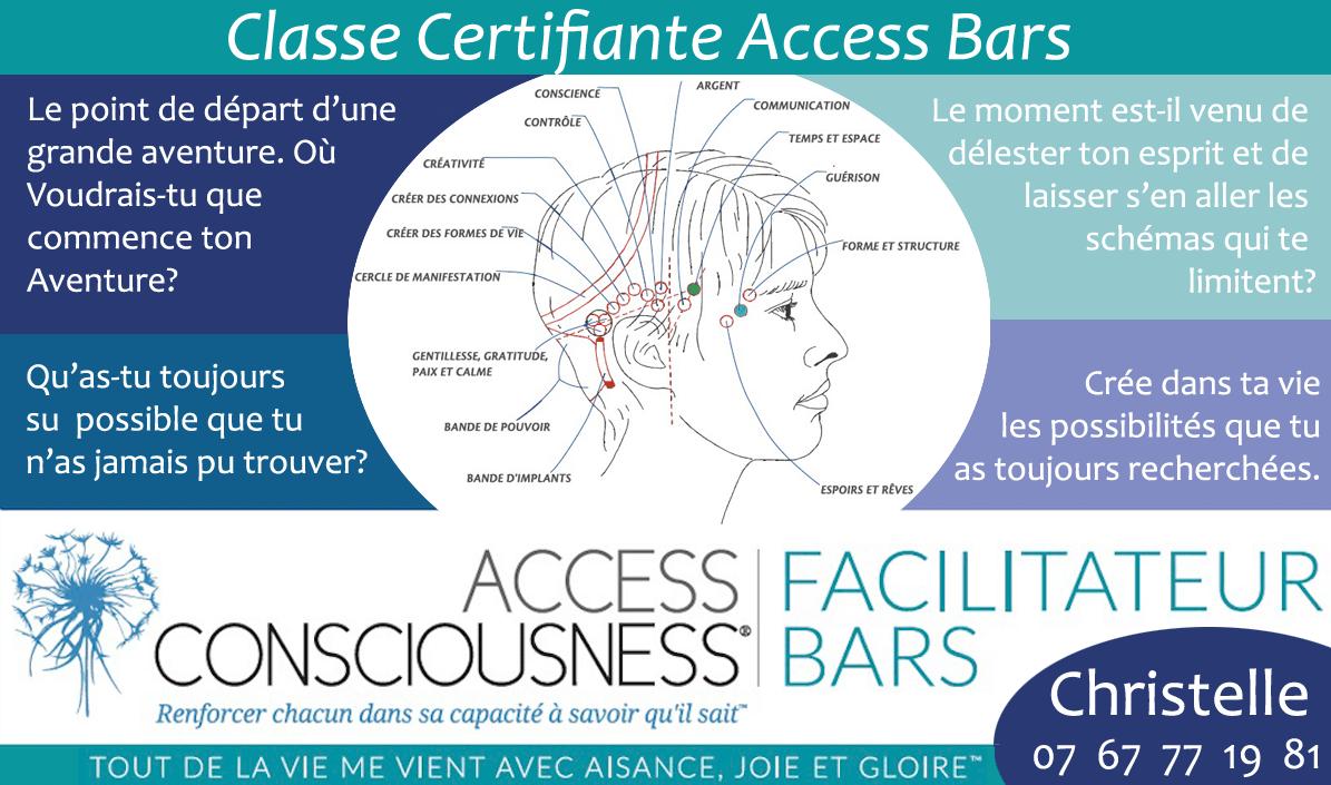 Formation Access Bars à Dax dans les Landes avec Christelle Firework