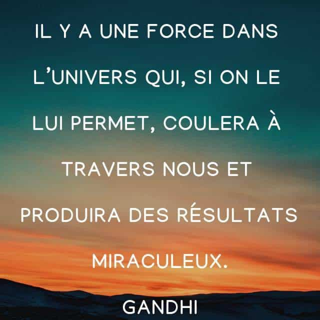 citation, gandhi, univers, force