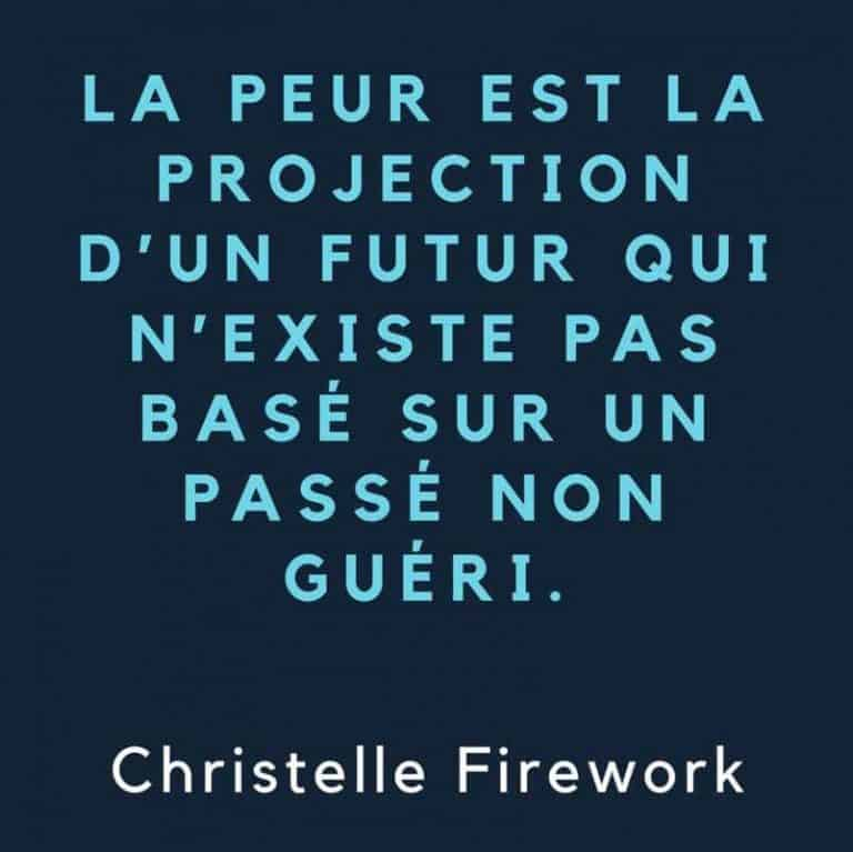 Citation Christelle Firework