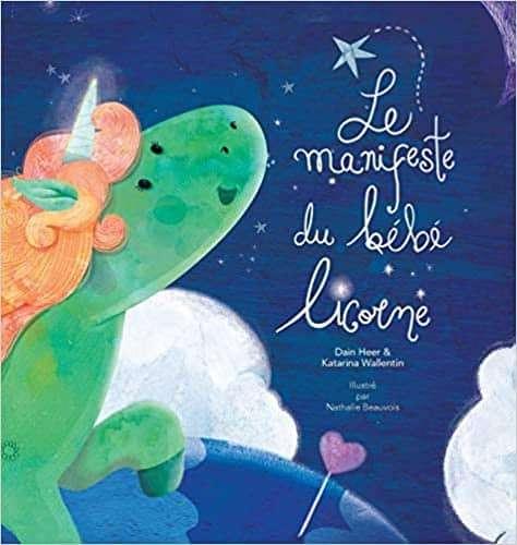 Le manifeste du bébé licorne - Baby Unicorn French (Français)