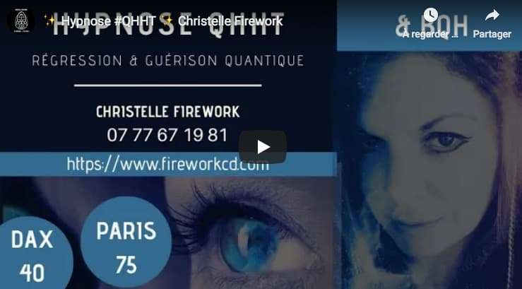 Qhht you tube Christelle Firework