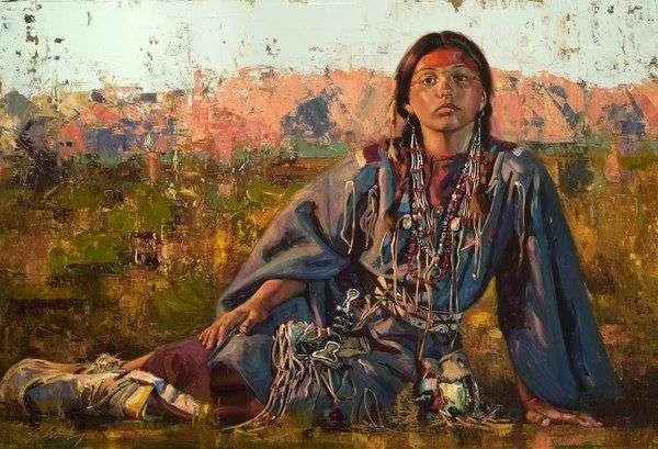 BQH | Amérindienne, guérison par les plantes, intention , être soi dans sa présence