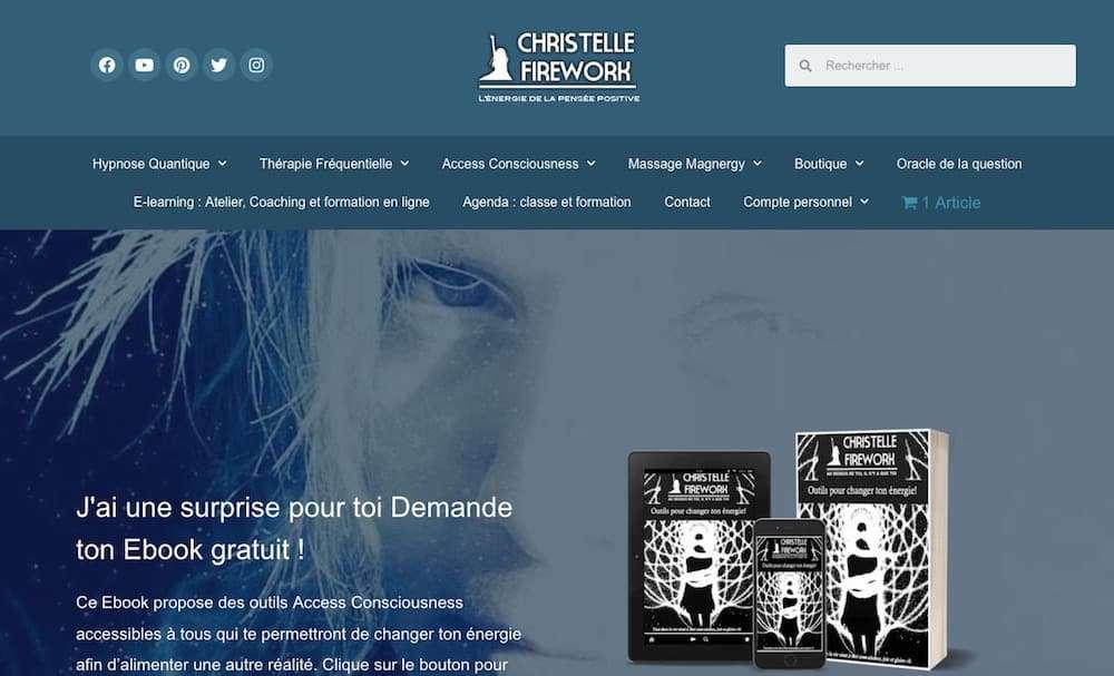 site christelle firework